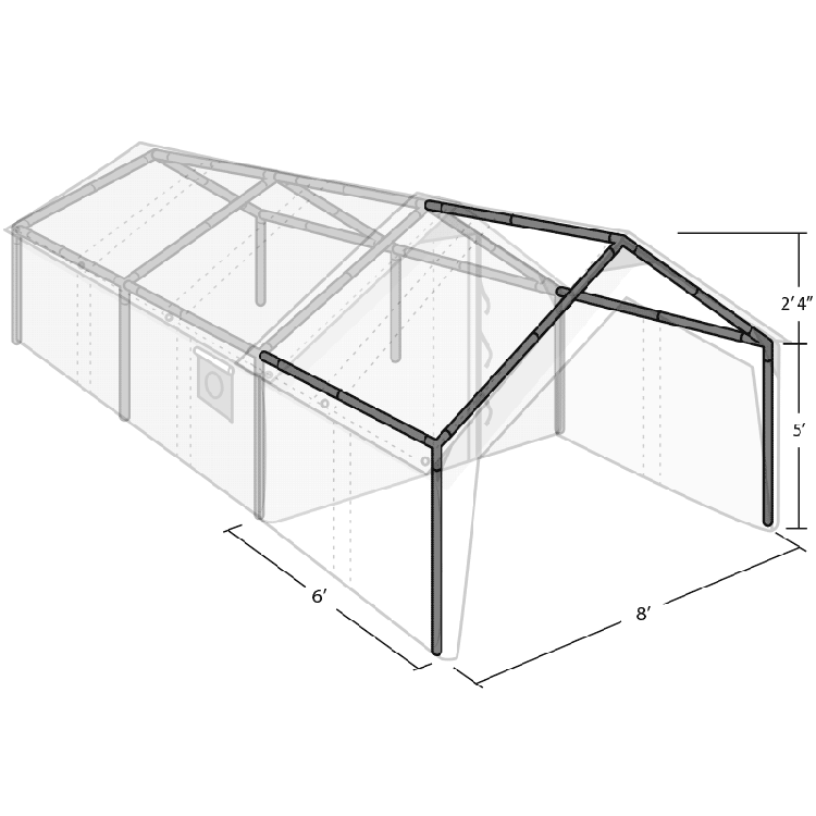 WALL TENT PORCH FRAME