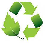 Rainier industries is a strong proponent of using the environmental management system. Recycling and as green as we can be. EMS logo