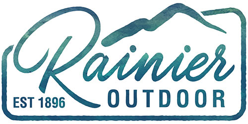 Rainier Outdoor Logo: Rainier Industries Ltd, 18375 Olympic Ave S, Tukwila, WA 98188